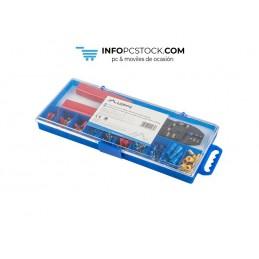 CAJA HERRAMIENTAS LANBERG CRIMPADORA Y 100 TERMINALES ELECTRICOS 1.25 A 4MM Lanberg SCC01-TCC-IT101