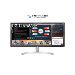 "MONITOR LG 29WN600-W 29\"" IPS 2560x1080 5MS HDMI DP MULTIMEDIA NEGRO PLATA LG 29WN600-W"