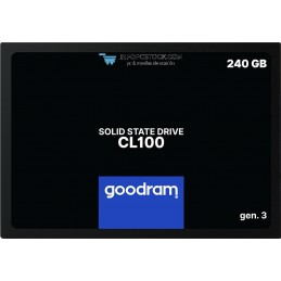 SSD GOODRAM CL100 240GB SATA3 Goodram SSDPR-CL100-240-G3