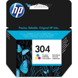 TINTA HP 304 TRI-COLOR HP N9K05AE