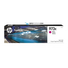 TINTA HP 973X MAGENTA PAGEWIDE HP F6T82AE