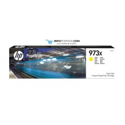 TINTA HP 973X AMARILLO PAGEWIDE HP F6T83AE