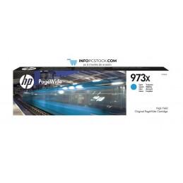 TINTA HP 973X PAGEWIDE CIAN ALTA CAPACIDAD HP F6T81AE