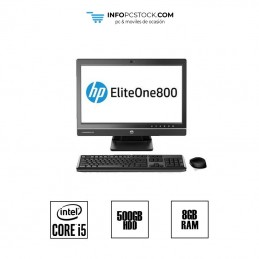 "ELITE ONE 800 G1 / TODO EN 1 / i5 4570S 3,0 GHz / HDD 500GB / RAM 8GB / PANTALLA 24\"" HP D0A59AV"
