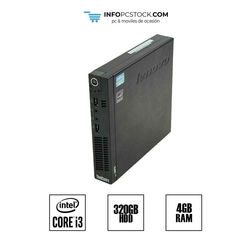 LENOVO THINKCENTRE M72e / i3 2120 3,3 GHz / HDD 320GB / RAM 4GB Lenovo 3261A85