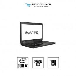 "Zbook 15 G2 / i7 4810MQ 2,80 GHz / SSD 256GB / RAM 16GB / PANTALLA 15,6\\"" HP G7T32AV"