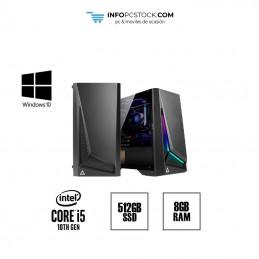 Infopc Gaming Asus i5 10400F LGA 1200 / SSD 512GB / RAM 8GB ASUS 2024C00111