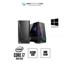 Infopc Gaming Asus / i7 10700 LGA 1200 / SSD 512GB / RAM 8GB ASUS 2024C00107