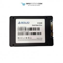 SOLID SSD DISCO DURO 512GB / SATA 3 SOLID SOLIDSSD