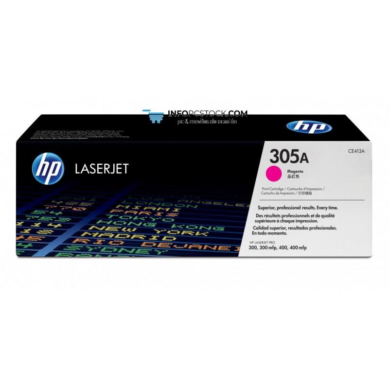 TONERHP305AMAGENTA2600PAG HP CE413A