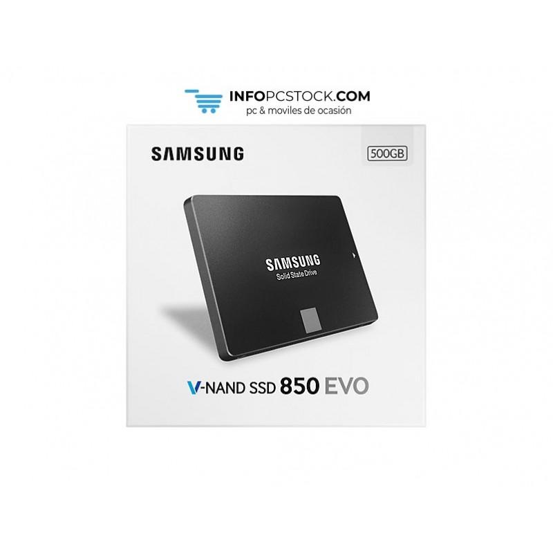 SSD SAMSUNG 850 EVO STARTER KIT 500GB SATA3 Samsung MZ-75E500RW