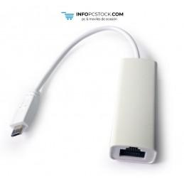 ADAPTADOR GEMBIRD MICRO USB 2.0 A ETHERNET Gembird NIC-MU2-01