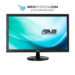 "MONITOR ASUS VS247HR 23,6\"" LED FHD HDMI DVI VGA 2MS NEGRO ASUS 90LME2301T02231C"