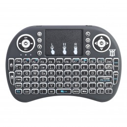 TECLADO MAILLON SMART TV WIRELESS NEGRO