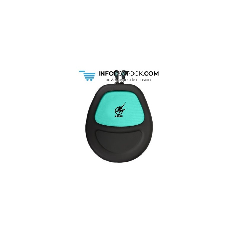 FUNDA AURICULARES GAMING PORT AROKH NEGRO/VERDE Port Designs 901701