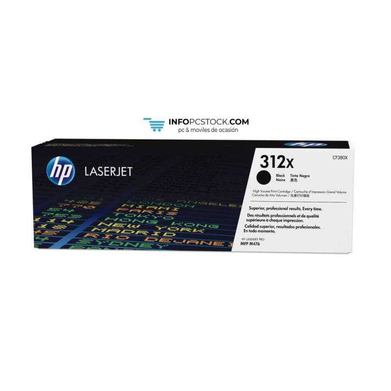 TONERHP312XNEGRO4400PAG HP CF380X