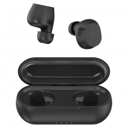 INTRAURICULAR HIDITEC TRUE WIRELESS STEREO EARBUDS KONDOR BLACK