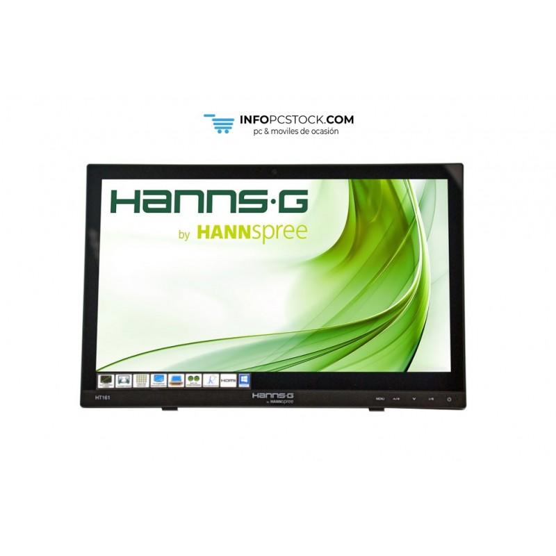 "MONITOR HANNS HT161HNB 15,6\\"" 1366x768 12MS HDMI ALTAVOCES TACTIL NEGRO Hannspree HT161HNB"