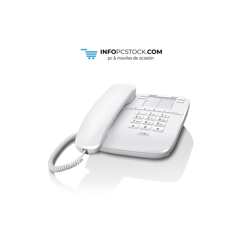 TELEFONO FIJO GIGASET DA310 BLANCO Gigaset S30054-S6528-R102