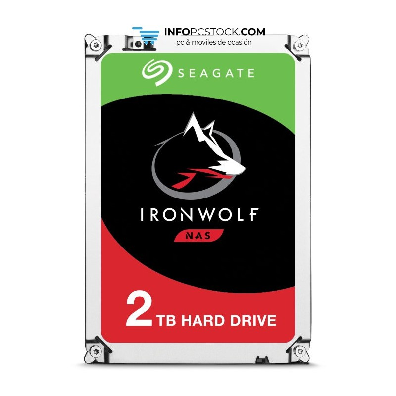 DISCO SEAGATE IRONWOLF 2TB SATA3 Seagate ST2000VN004