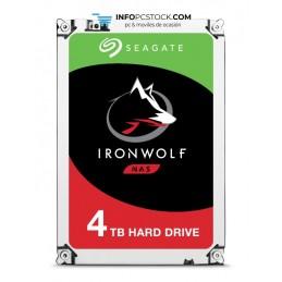 DISCO SEAGATE IRONWOLF 4TB SATA3 64MB Seagate ST4000VN008