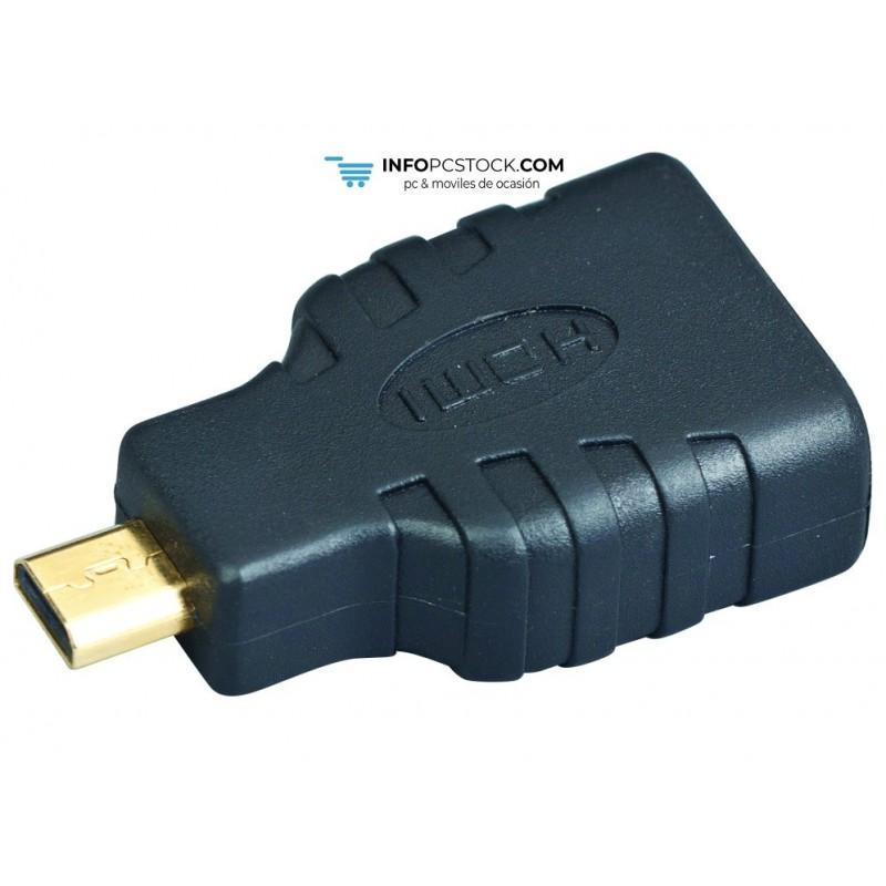 ADAPTADOR GEMBIRD HDMI A HDMI MICRO Gembird A-HDMI-FD