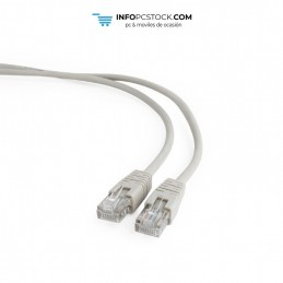 CABLE RED GEMBIRD UTP CAT5E 30M GRIS Gembird PP12-30M