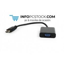 CABLE ADAPTADOR GEMBIRD HDMI MACHO A VGA HEMBRA Gembird A-HDMI-VGA-04