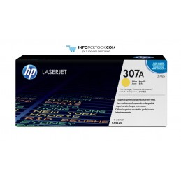 TONERHP307AAMARILLLO HP CE742A